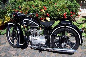 Motorrad BMW von 1951